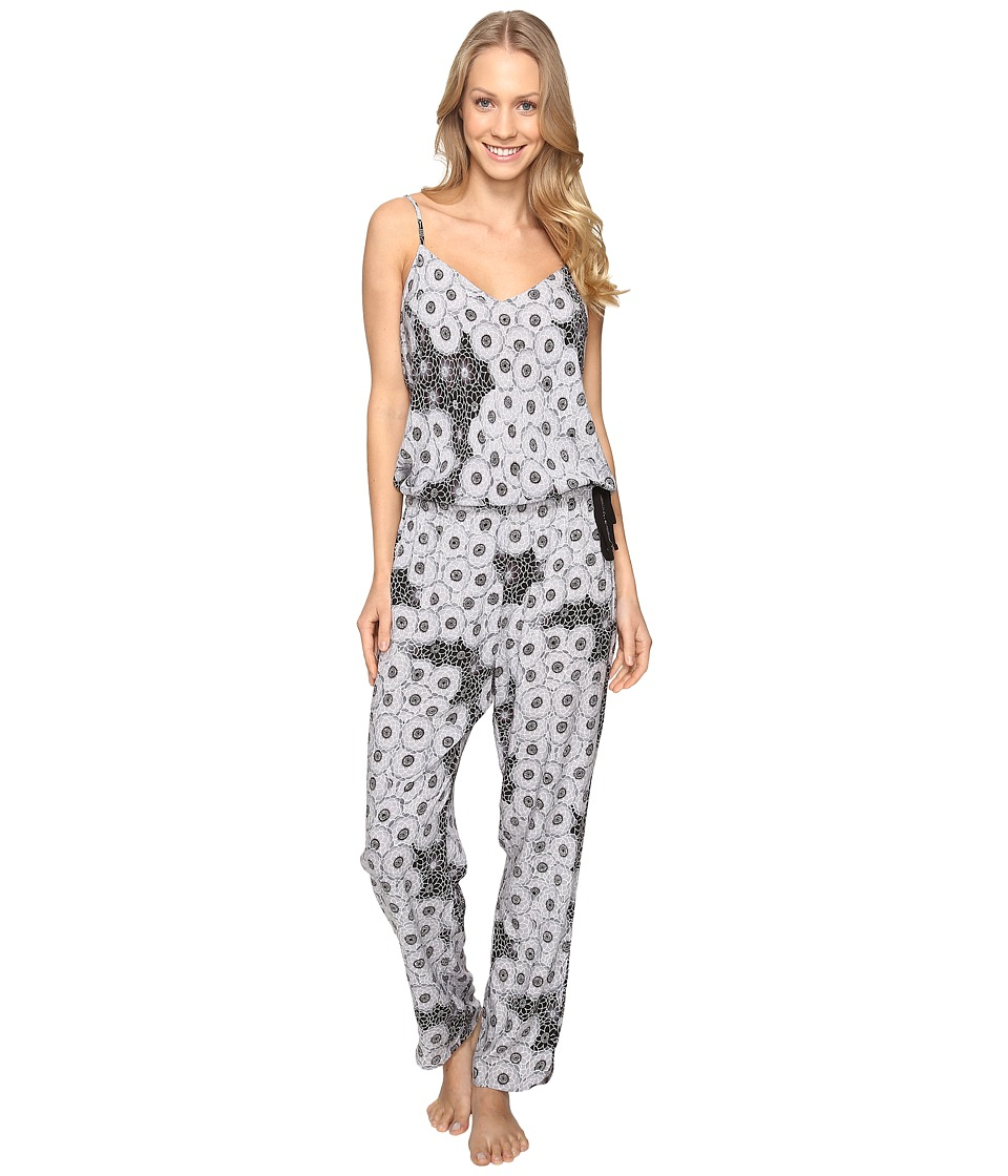Josie - Cosmos Jumpsuit (Black/White) Women's Jumpsuit & Rompers One Piece