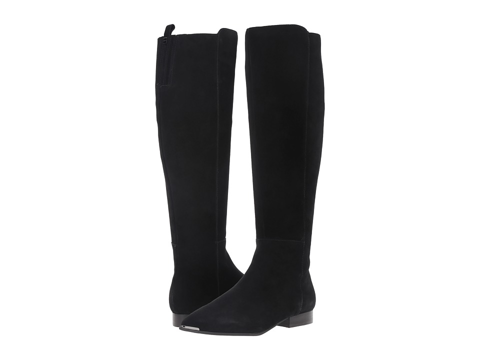 Marc Fisher LTD - Hanna (Black Suede) Women's Boots