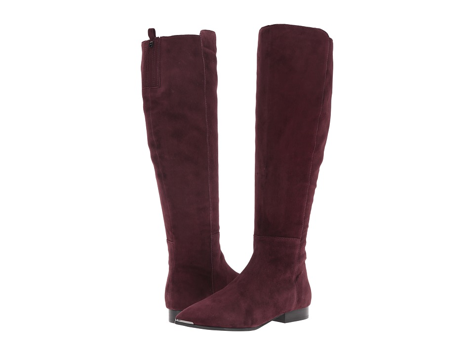 Marc Fisher LTD - Hanna (Dark Red Suede) Women's Boots