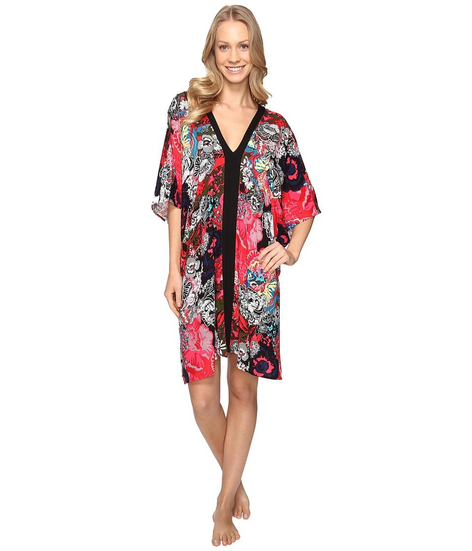 Josie - Cosmos Taylor Tunic (Pink Multi) Women's Pajama