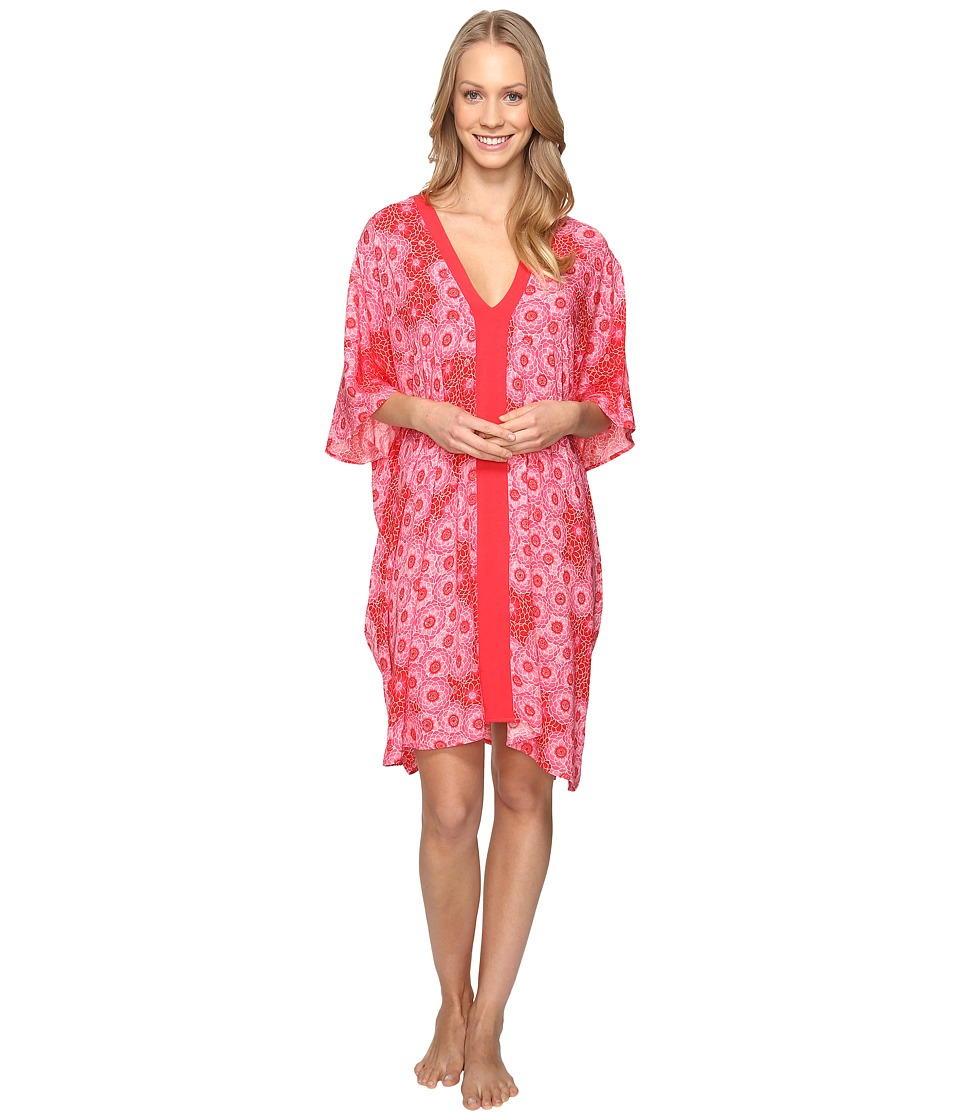 Josie - Cosmos Taylor Tunic (Red/Pink) Women's Pajama