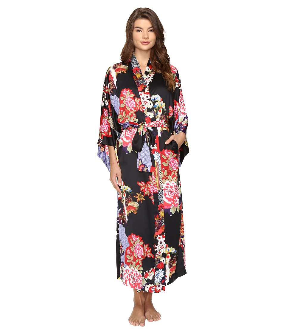 Natori - Mikado Robe (Black) Women's Robe