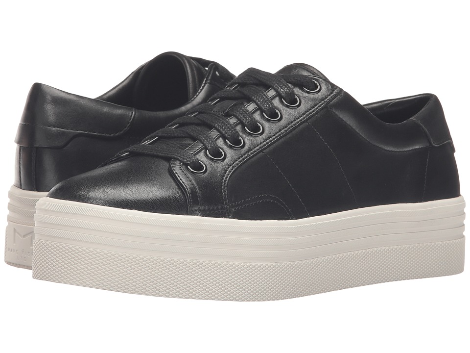Marc Fisher LTD - Emmy (Black Leather) Women's Lace up casual Shoes
