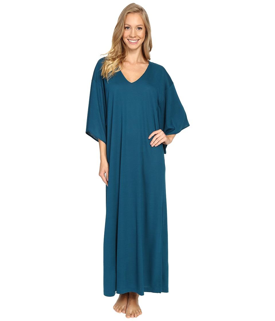N by Natori - Congo Caftan (Saxony Blue) Women's Robe