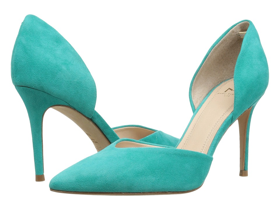 Marc Fisher LTD - Tammy (Medium Green Suede) High Heels