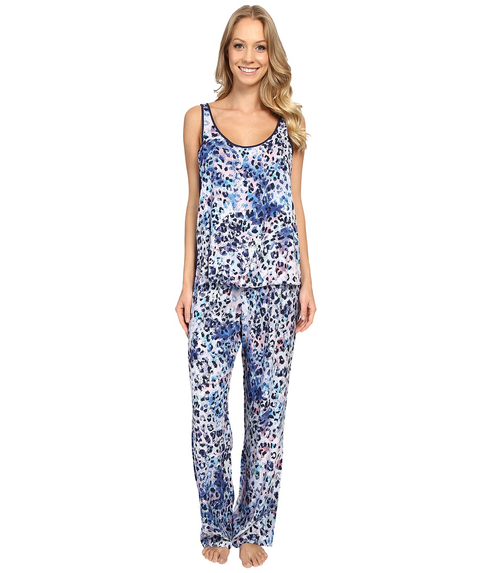 Josie - Serengeti Tank PJ (Blue Multi) Women's Pajama Sets