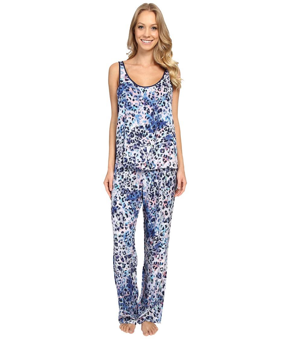Josie - Serengeti Tank PJ (Blue Multi) Women's Pajama Sets