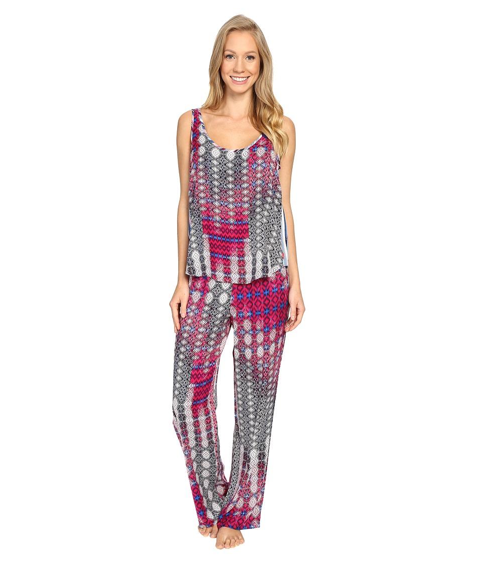 Josie - Rhapsody Tank PJ (Pink Multi) Women's Pajama Sets