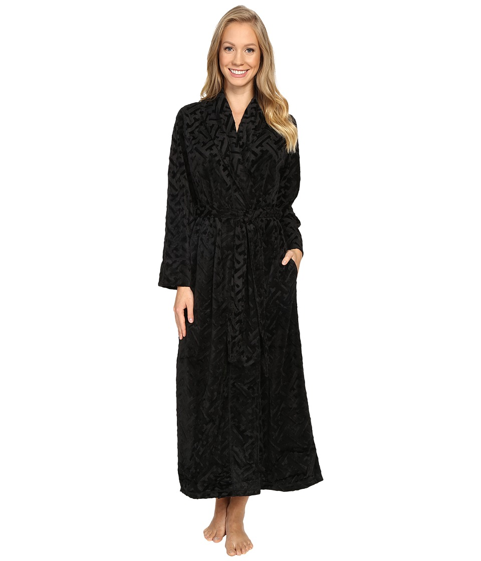 Natori - Ritz Robe (Black) Women's Robe