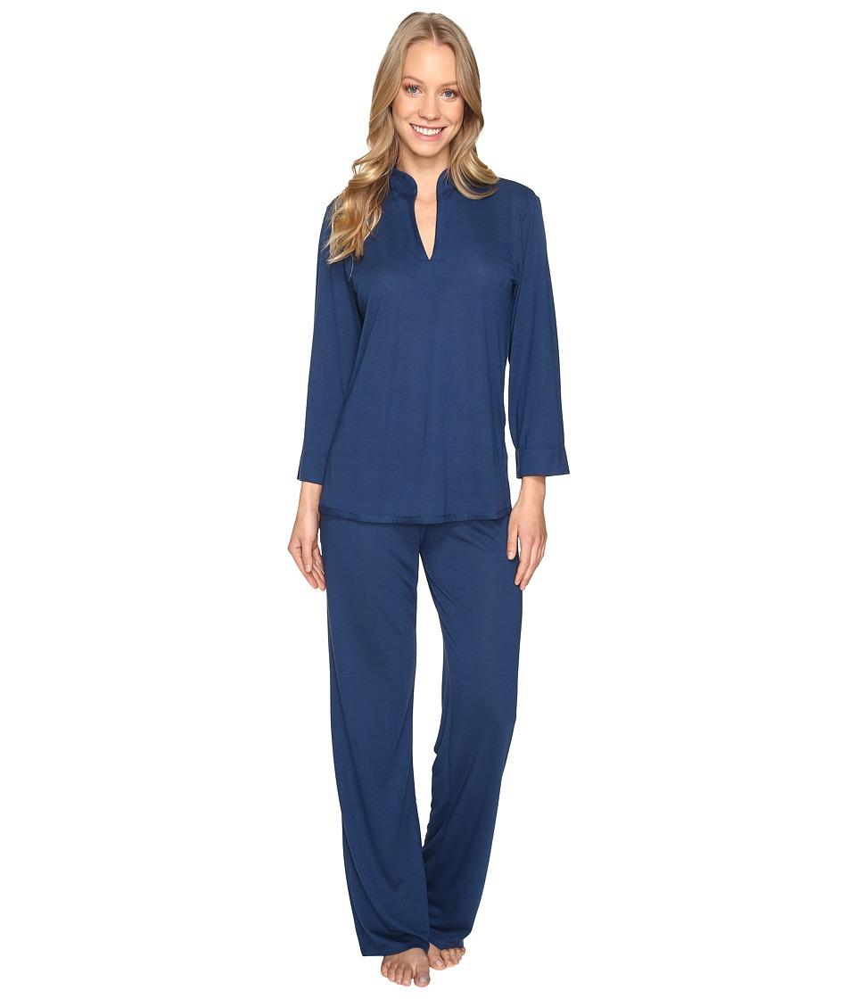N by Natori - Congo PJ Set (January Navy) Women's Pajama Sets