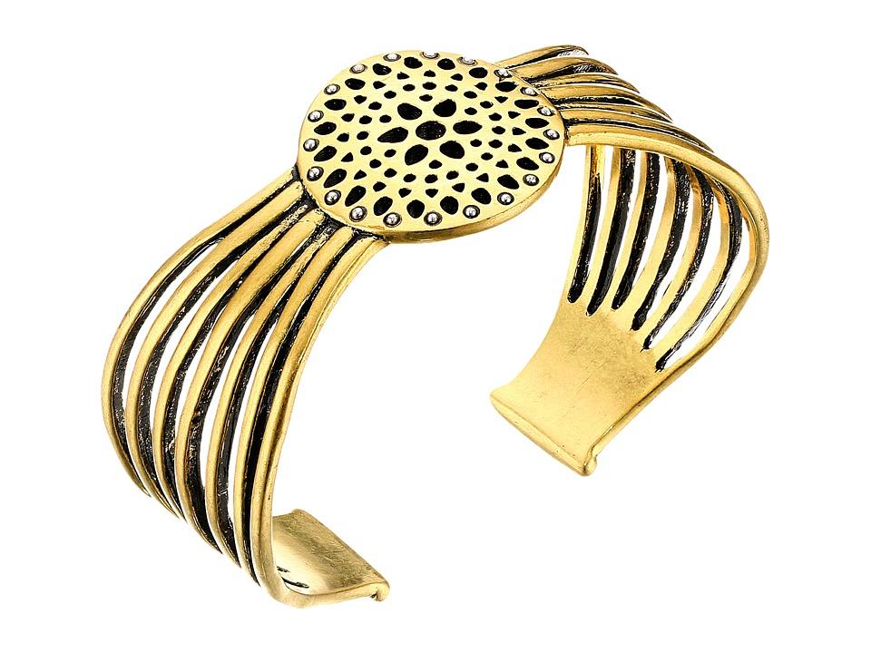Lucky Brand - Openwork Cuff Bracelet (Gold) Bracelet