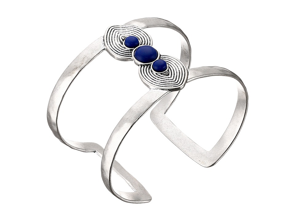 Lucky Brand - Double Spade Cuff Bracelet (Silver) Bracelet