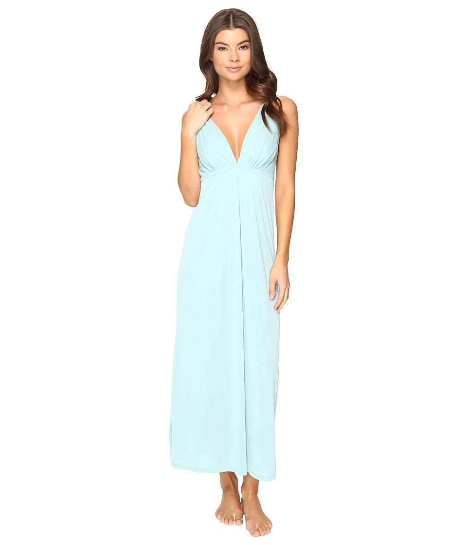 Natori - Aphrodite Tank Gown (Spearmint) Women's Pajama