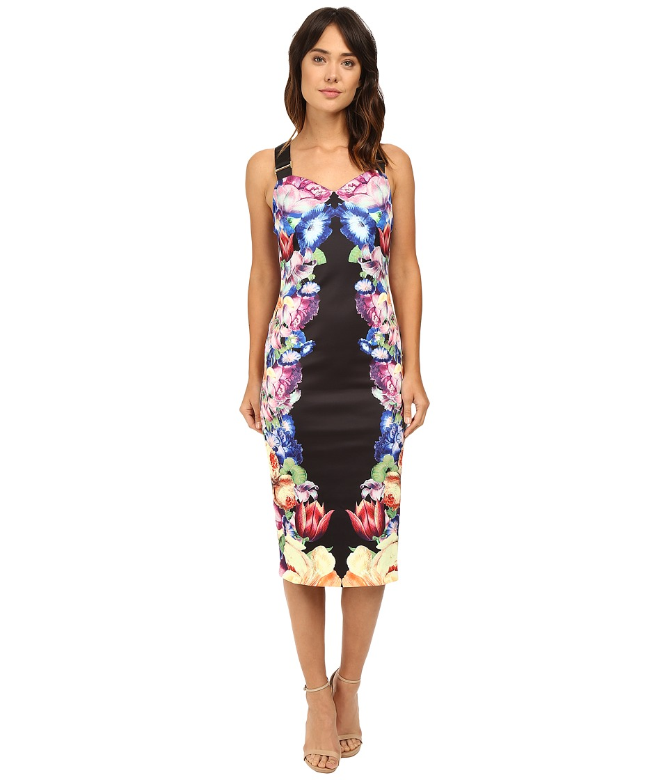 Ted Baker - Deony Buckle Detailed Dress (Black) Women's Dress