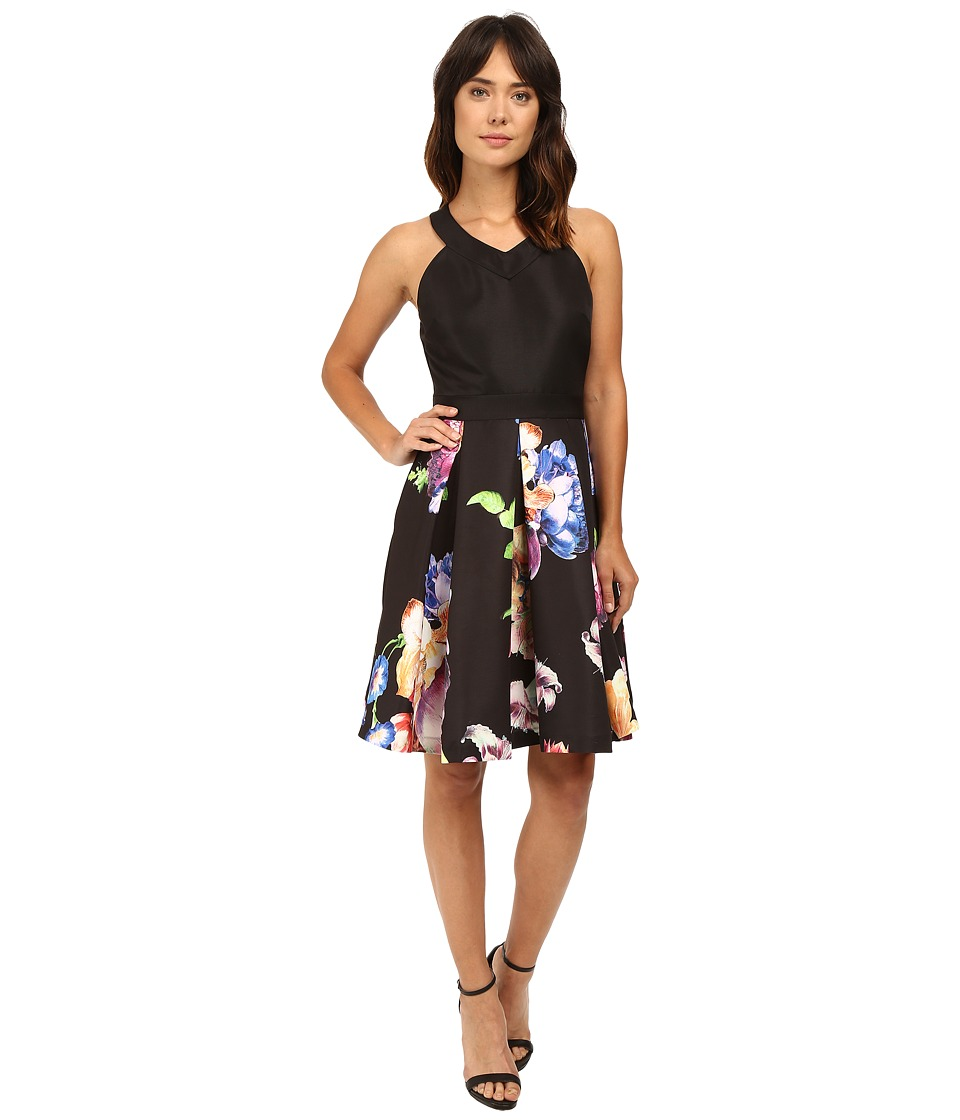 Ted Baker Illusia V-Neck Inverted Pleat Dress