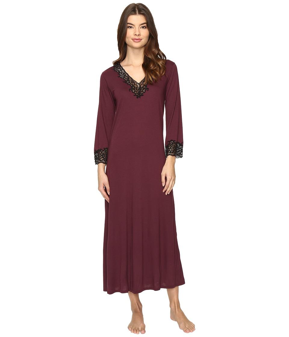 Natori - Lhasa Lounger (Deep Plum) Women's Pajama