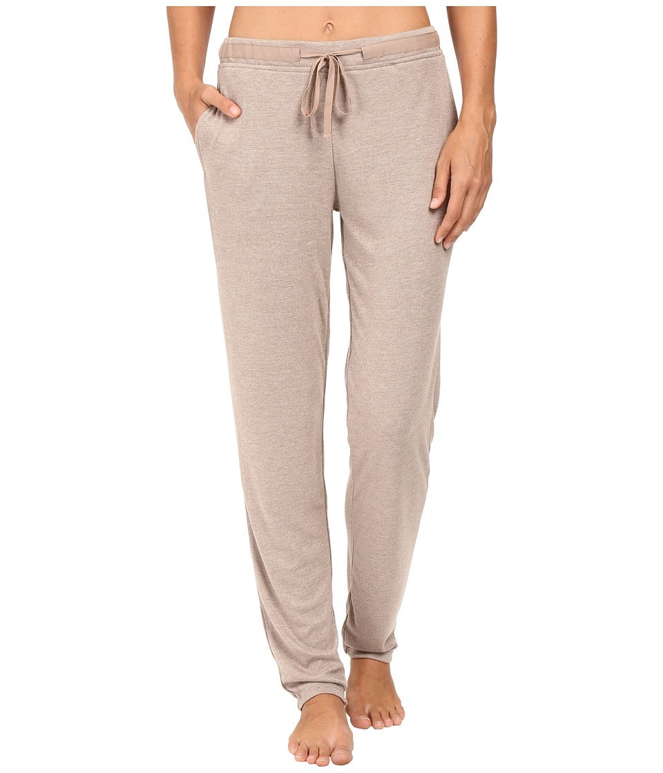 N by Natori - Speckled Interlock Pants (Light Coffee) Women's Pajama