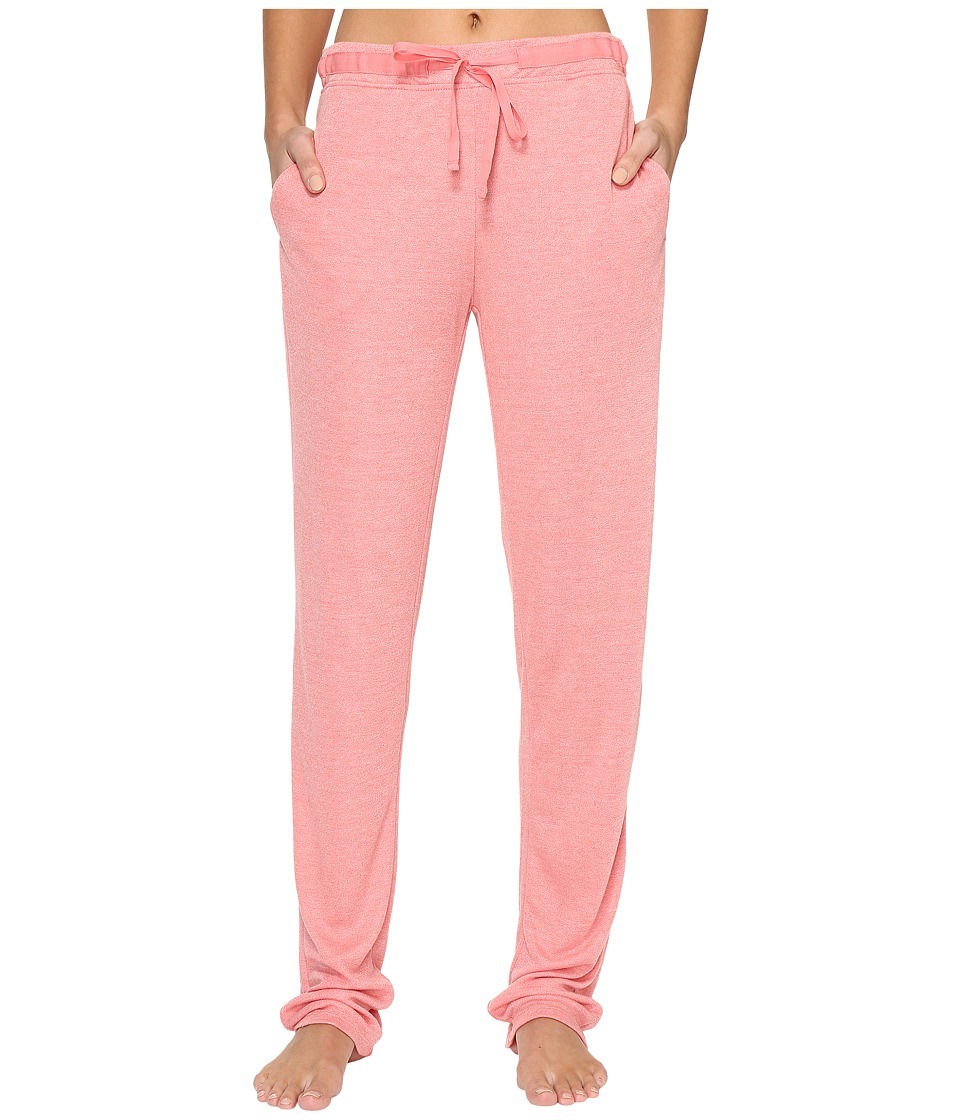 N by Natori - Speckled Interlock Pants (Coral Peach) Women's Pajama