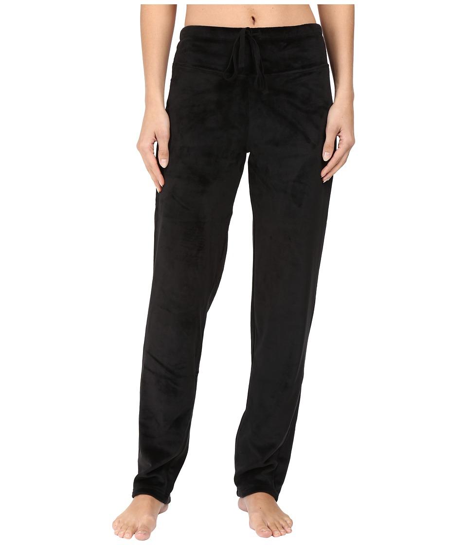 N by Natori - Velour Pants (Black) Women's Pajama