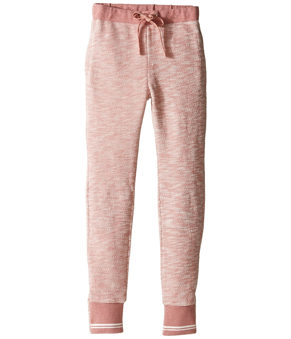 Pumpkin Patch Kids - Sibella Jogger (Little Kids/Big Kids) (Dusty Rose Marle) Girl's Casual Pants