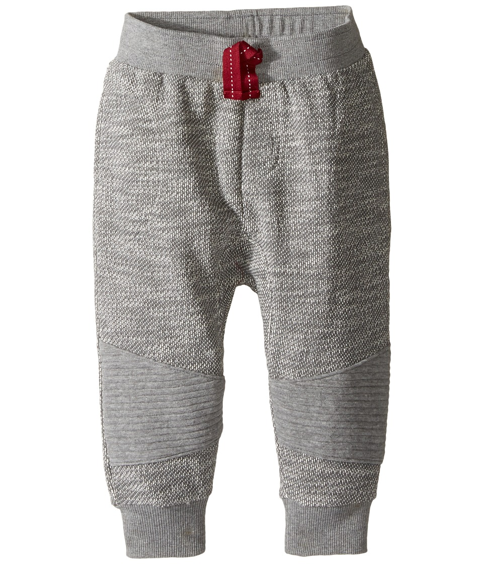 Pumpkin Patch Kids - Knee Panel Jogger (Infant/Toddler/Little Kids) (Concrete Marle) Boy's Casual Pants
