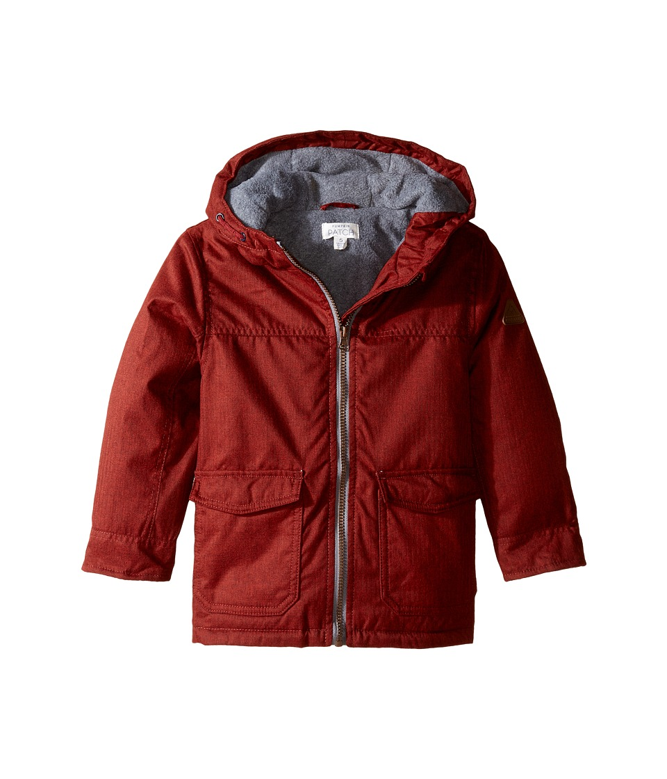 Pumpkin Patch Kids - Lined Garnet Jacket (Infant/Toddler/Little Kids) (Chilli Pepper) Boy's Coat