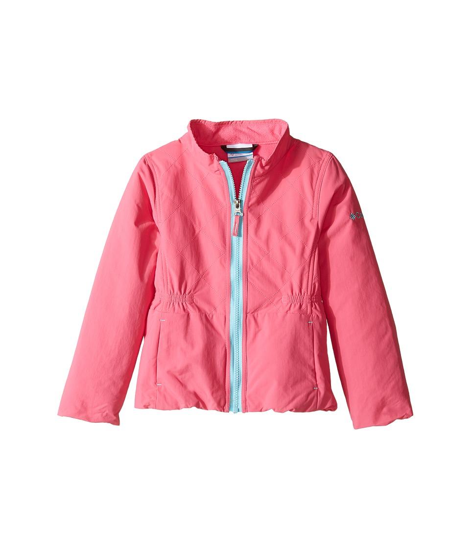 Columbia Kids Next Destination G Casual Jacket (Little Kids/Big Kids) (Wild Geranium) Girl
