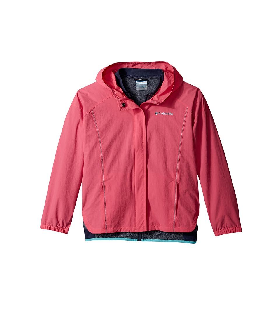 Columbia Kids - Next Destination G Interchange Jacket (Little Kids/Big Kids) (Wild Geranium) Girl's Coat