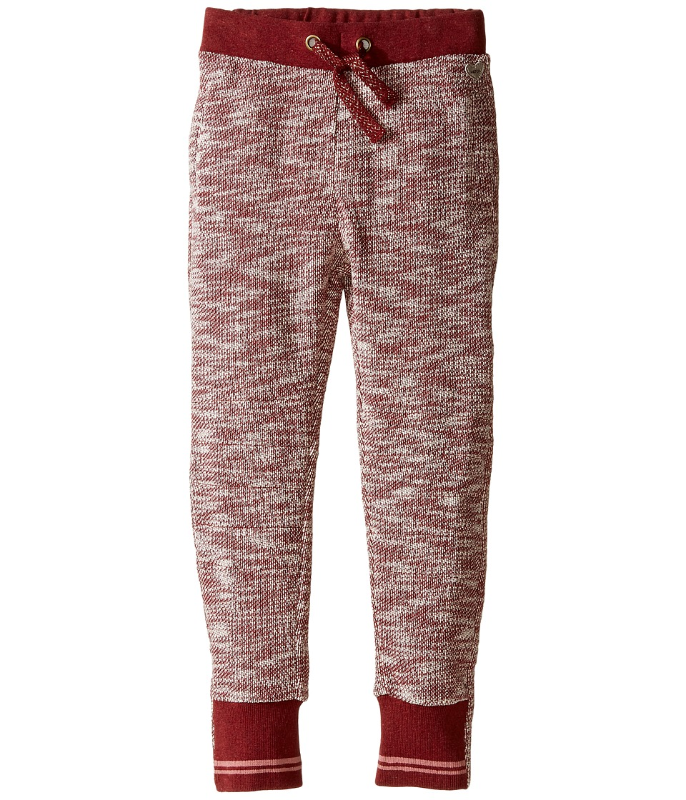 Pumpkin Patch Kids - Sibella Jogger (Infant/Toddler/Little Kids) (Deep Claret Marle) Girl's Casual Pants