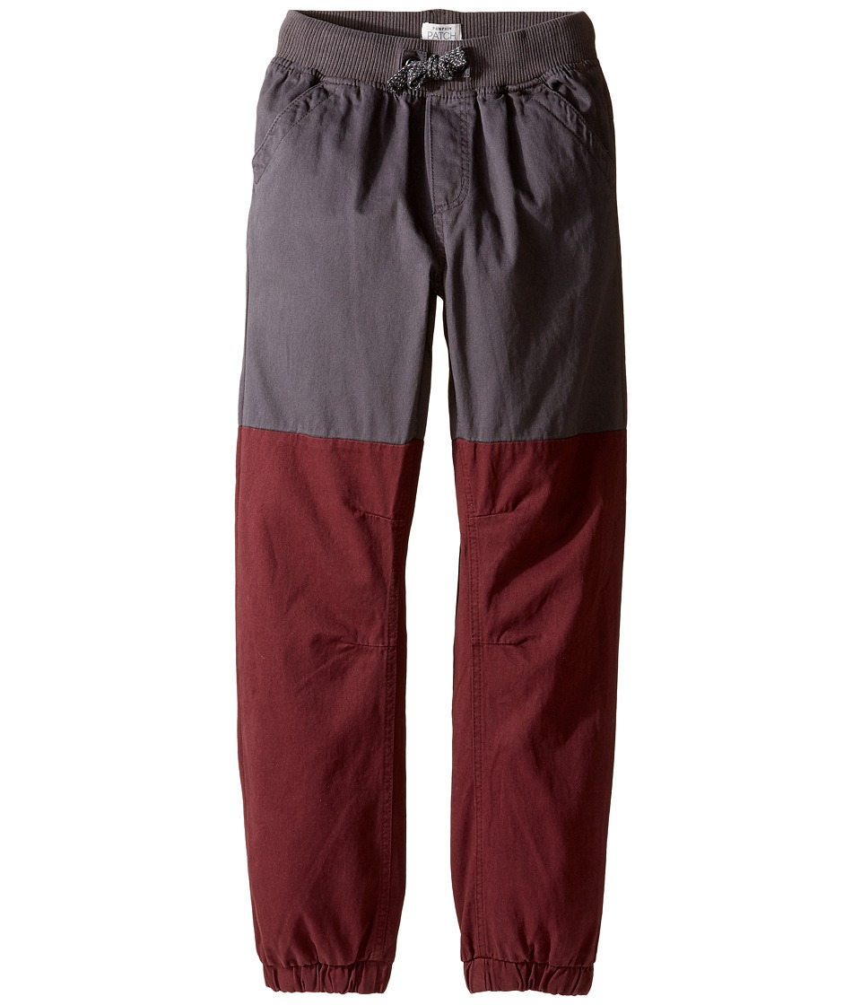 Pumpkin Patch Kids - Spliced Pull-On Pants (Infant/Toddler/Little Kids/Big Kids) (Pavement) Boy's Casual Pants