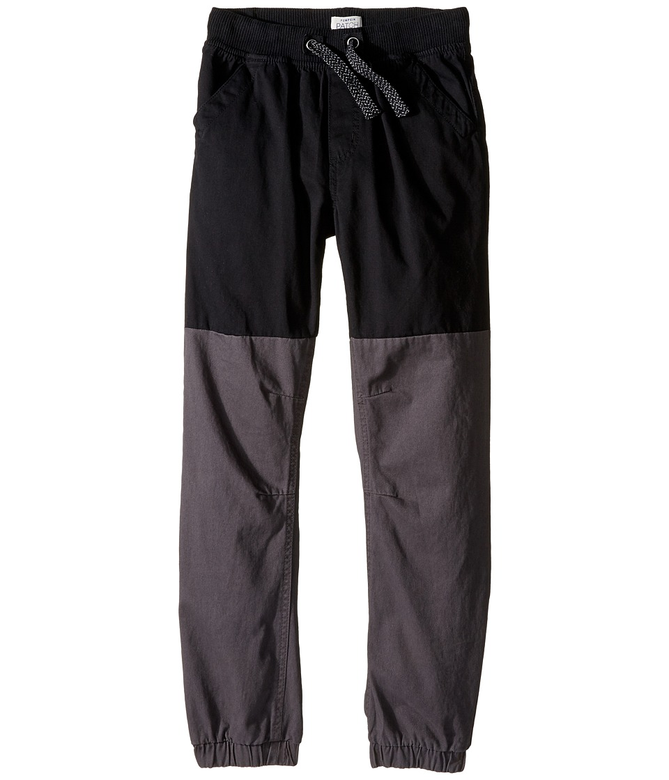 Pumpkin Patch Kids - Spliced Pull-On Pants (Infant/Toddler/Little Kids/Big Kids) (Black Ink) Boy's Casual Pants