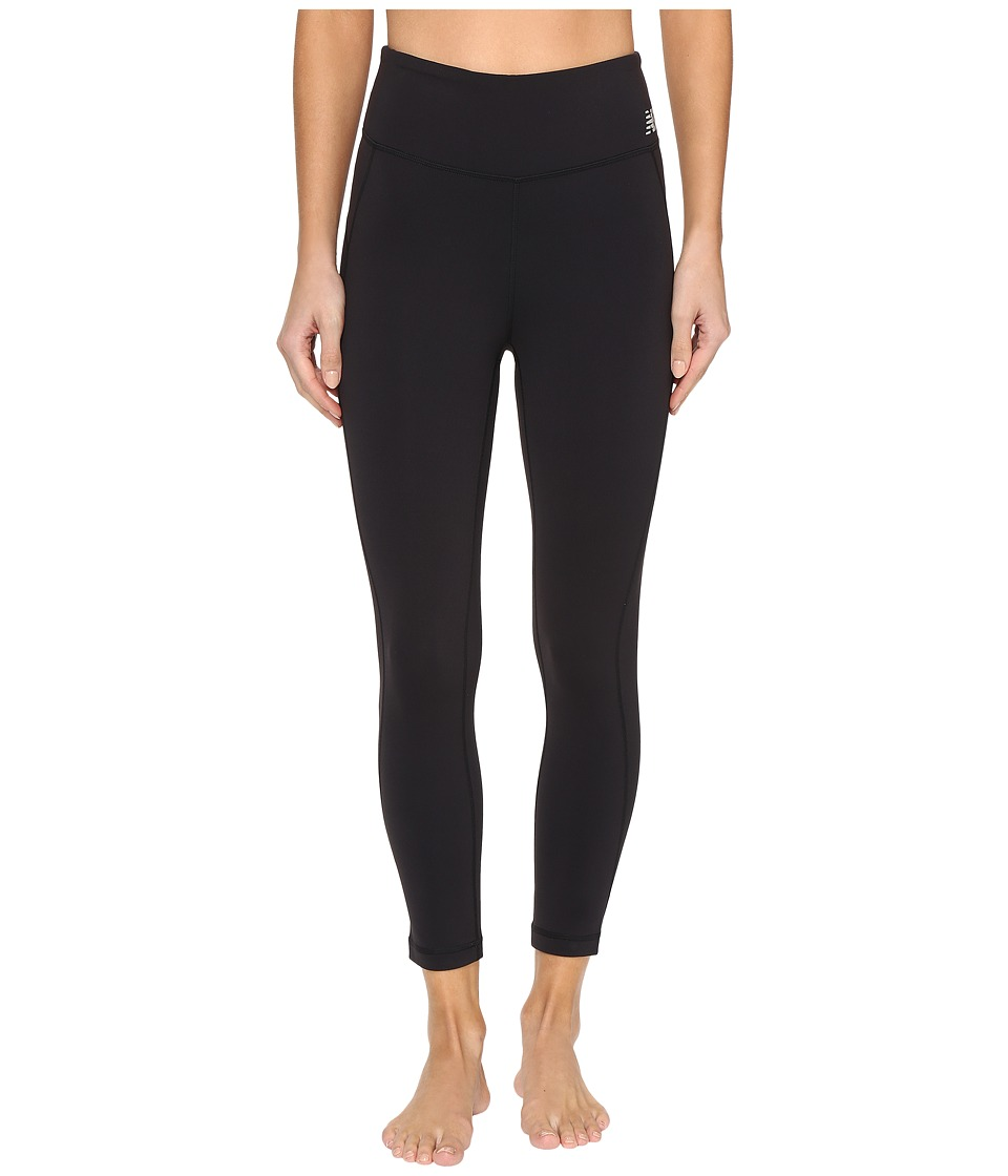 New Balance - Premium Performance 3/4 Crop (Black) Women's Workout