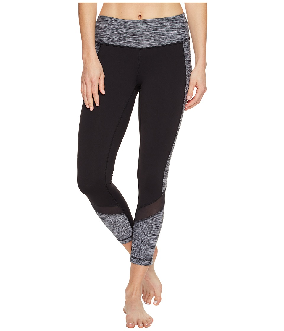 New Balance - Premium Performance Fashion Crop (Black/White) Women's Workout