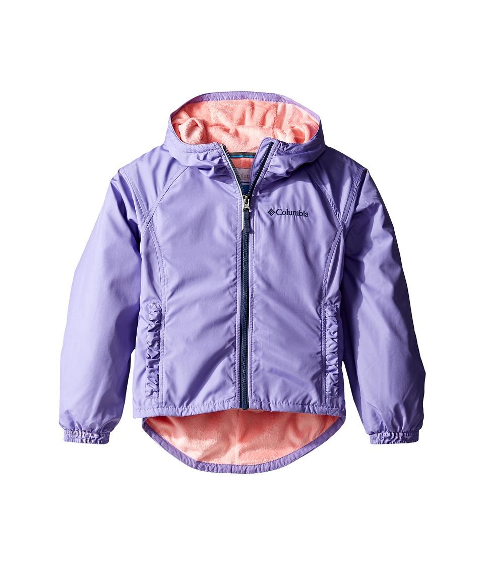 Columbia Kids Ethan Pondtm Jacket (Little Kids/Big Kids) (Paisley Purple/Sorbet) Girl