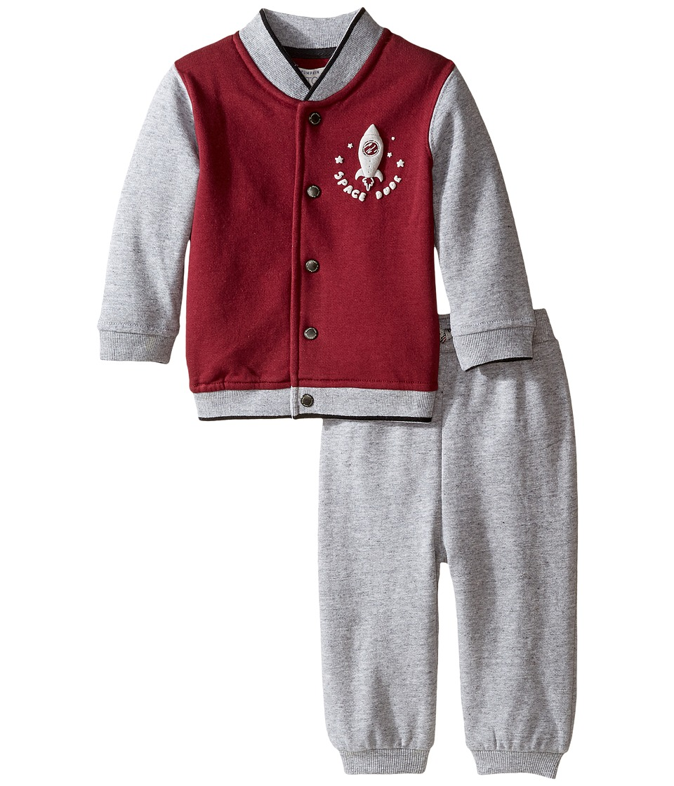 Pumpkin Patch Kids - Baseball Set (Infant) (Grey Marle) Boy's Active Sets
