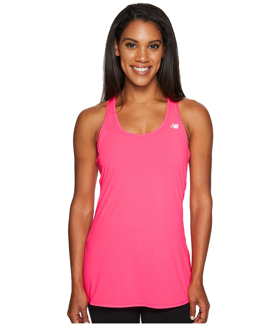 New Balance - Accelerate Tunic (Alpha Pink) Women's Sleeveless