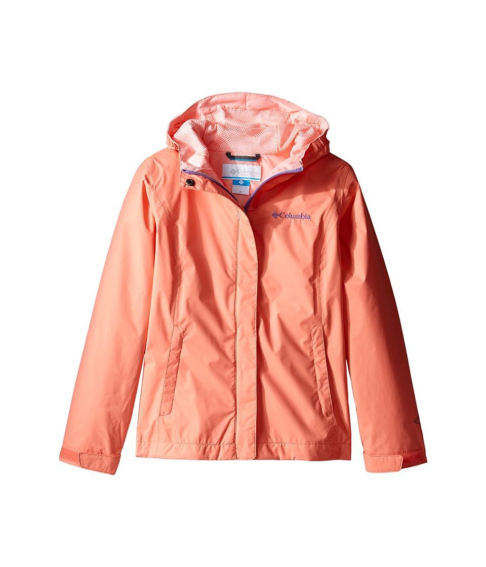 Columbia Kids - Arcadiatm Jacket (Little Kids/Big Kids) (Lychee/Sorbet/Paisley Purple) Girl's Coat