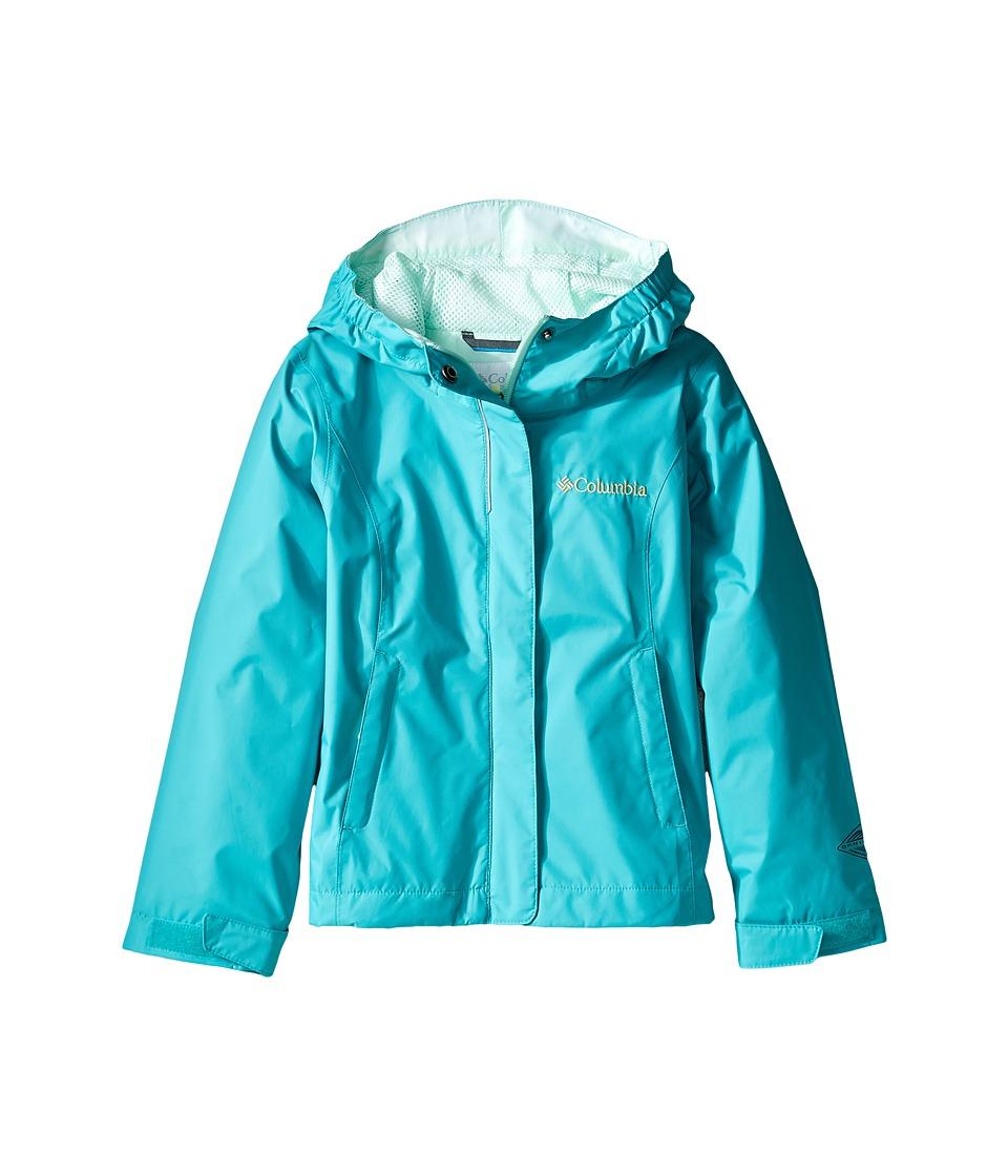 Columbia Kids - Arcadiatm Jacket (Little Kids/Big Kids) (Miami/Sea Ice/Spring Yellow) Girl's Coat