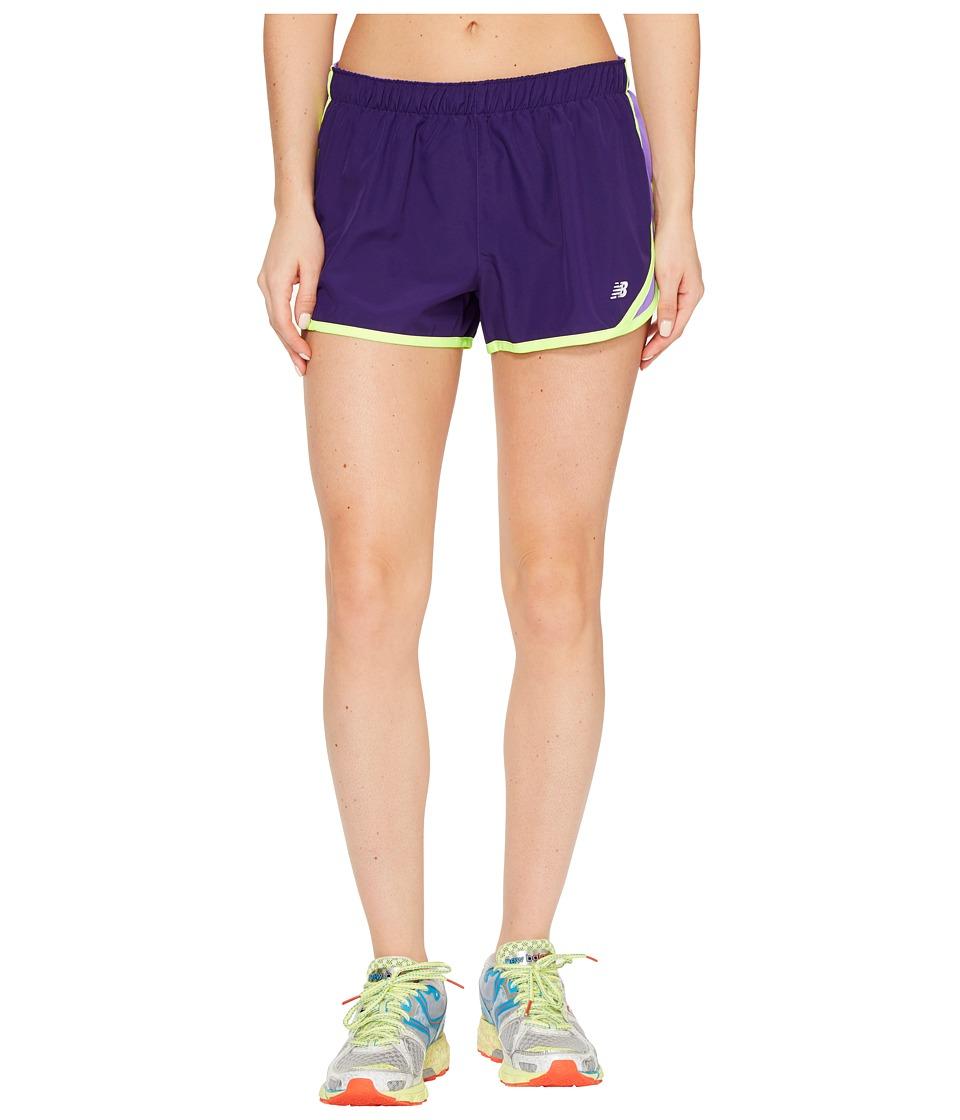 New Balance - Accelerate 2.5 Short (Black Plum) Women's Shorts