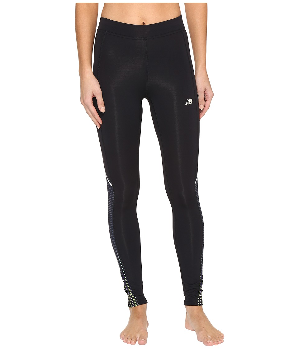 New Balance Printed Accelerate Tights (Placed Digital Ovals) Women