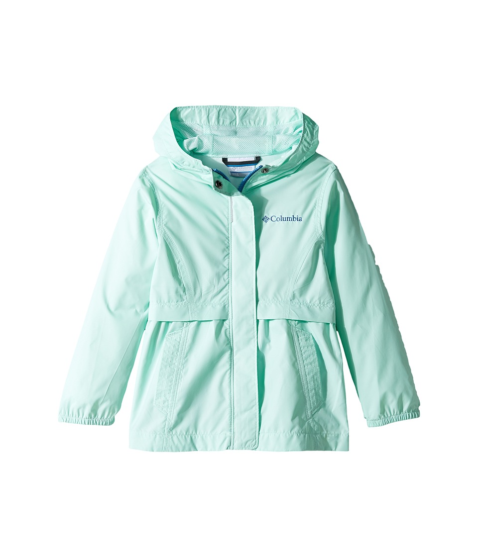 Columbia Kids - Pardon My Trench Rain Jacket (Little Kids/Big Kids) (Sea Ice) Girl's Coat