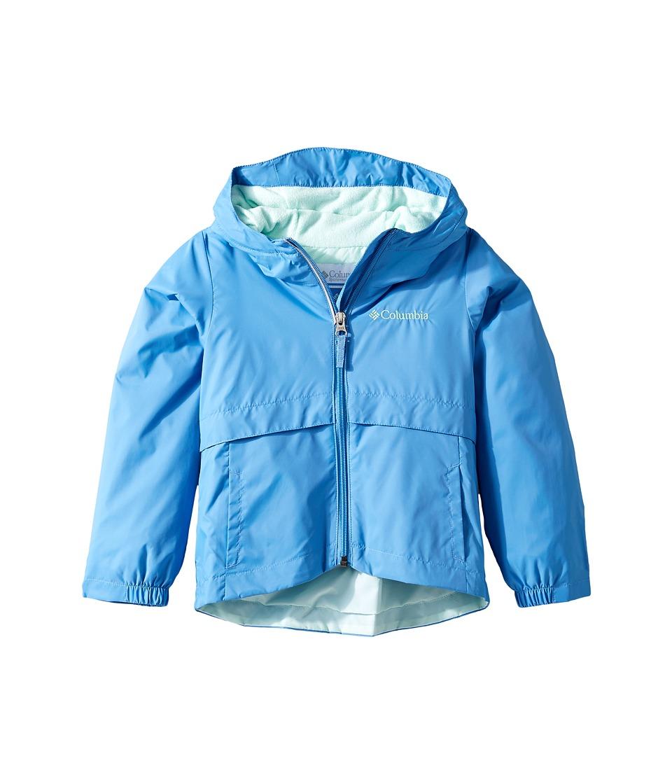 Columbia Kids Rain-Zillatm Jacket (Little Kids/Big Kids) (Medieval/Sea Ice) Girl