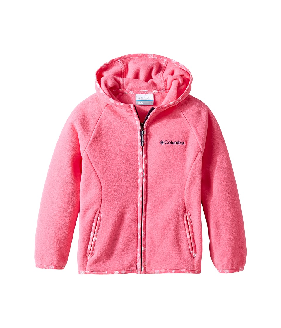 Columbia Kids - Fast Trektm Hoodie (Little Kids/Big Kids) (Wild Geranium) Girl's Sweatshirt