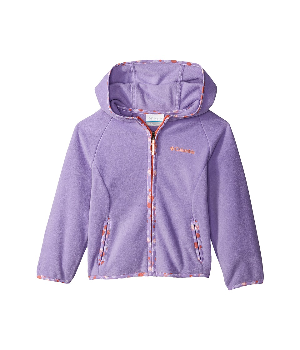 Columbia Kids - Fast Trektm Hoodie (Little Kids/Big Kids) (Paisley Purple) Girl's Sweatshirt