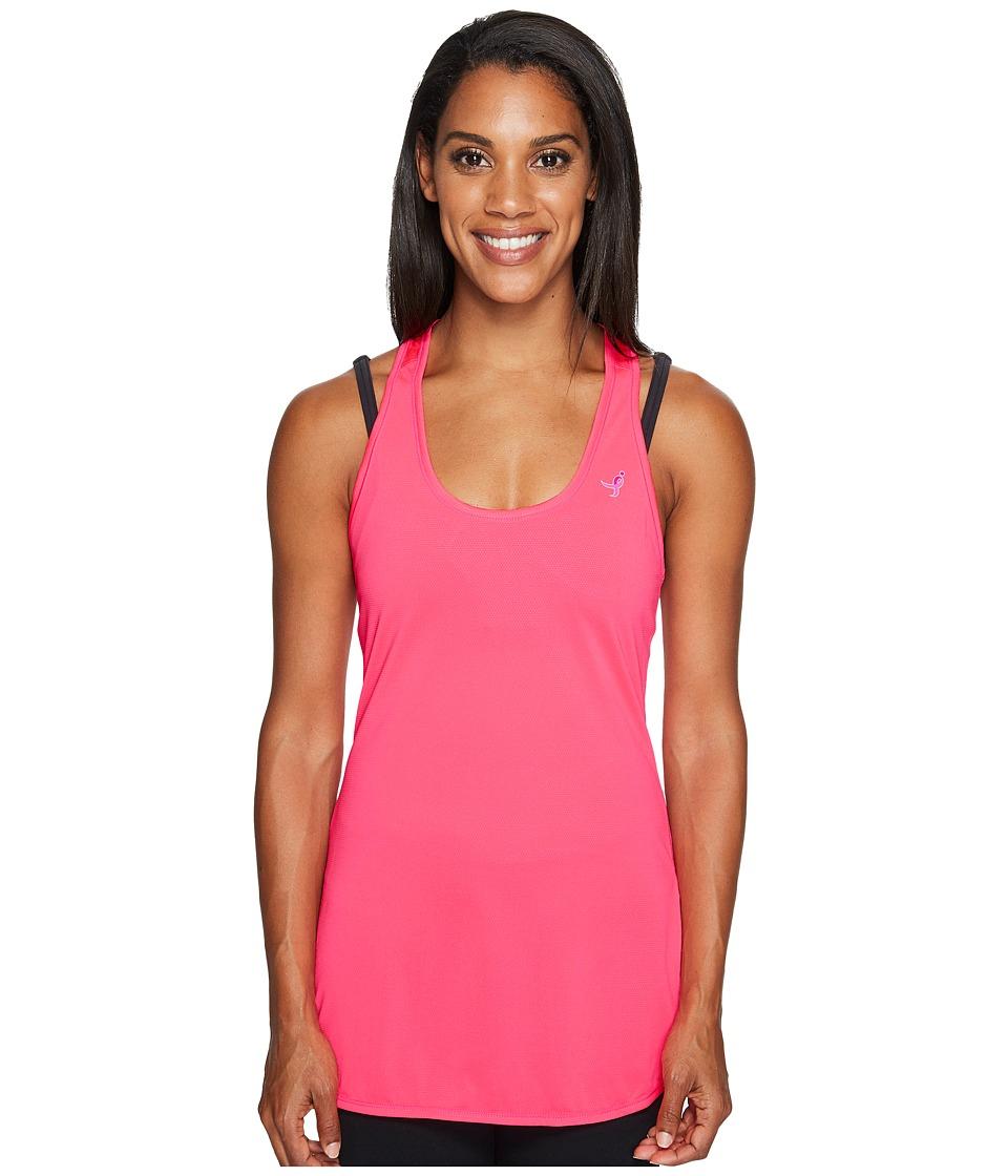 New Balance - Lace-Up Accelerate Tunic (Alpha Pink) Women's Sleeveless