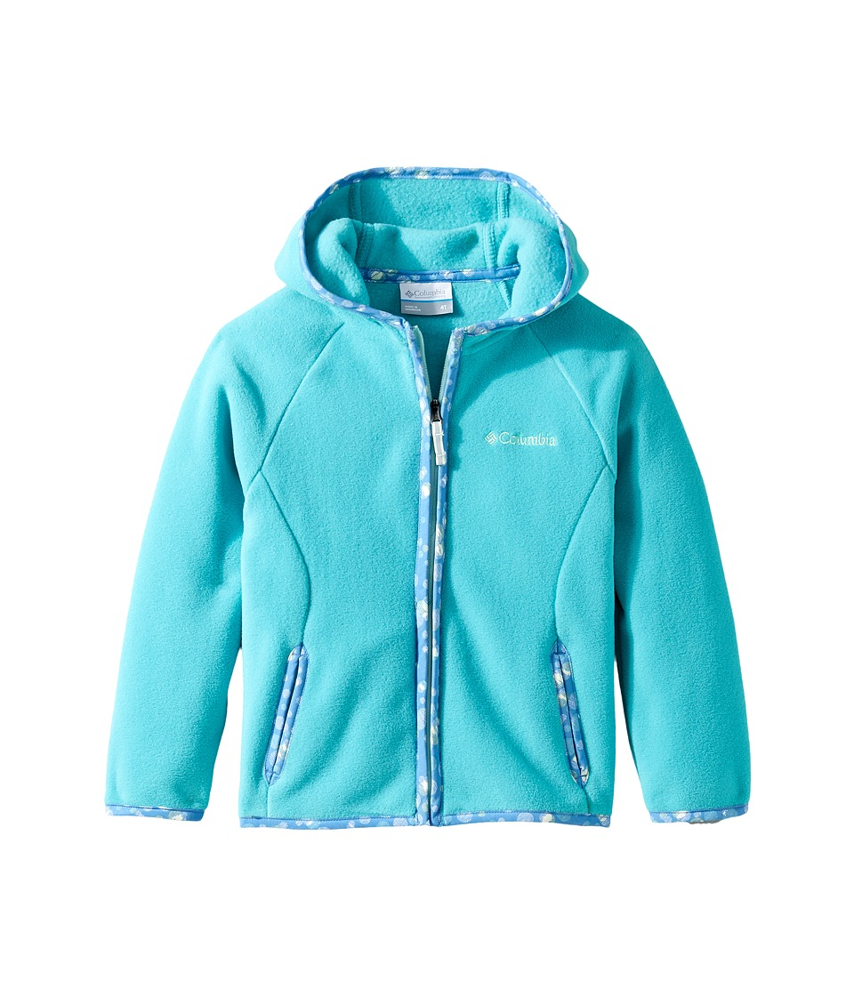 Columbia Kids - Fast Trektm Hoodie (Little Kids/Big Kids) (Miami 1) Girl's Sweatshirt