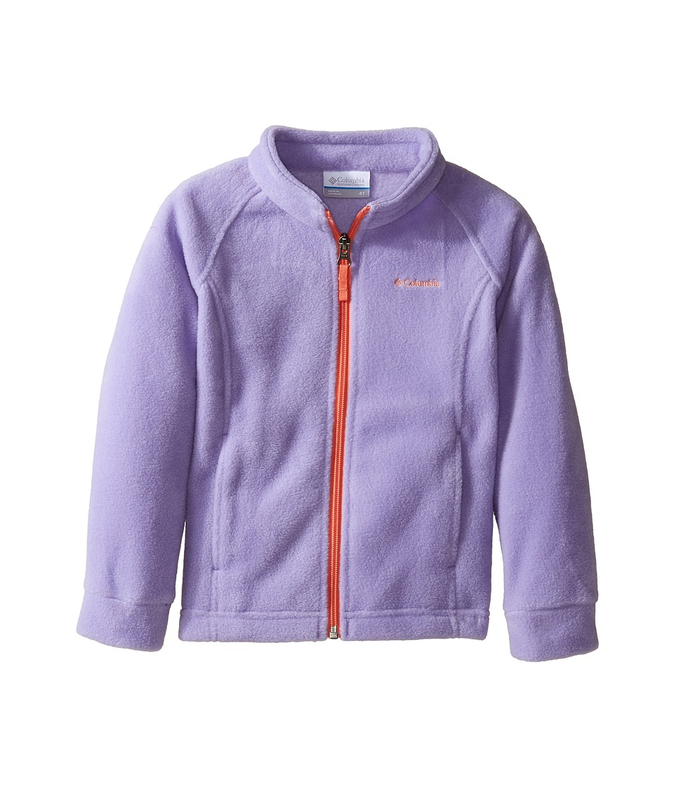Columbia Kids - Benton Springstm Fleece (Little Kids/Big Kids) (Paisley Purple/Lychee) Girl's Fleece