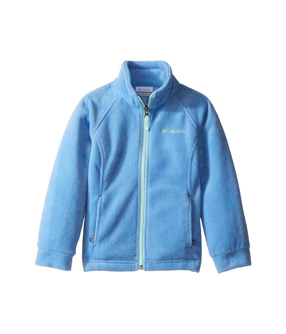 Columbia Kids - Benton Springstm Fleece (Little Kids/Big Kids) (Medieval/Sea Ice) Girl's Fleece