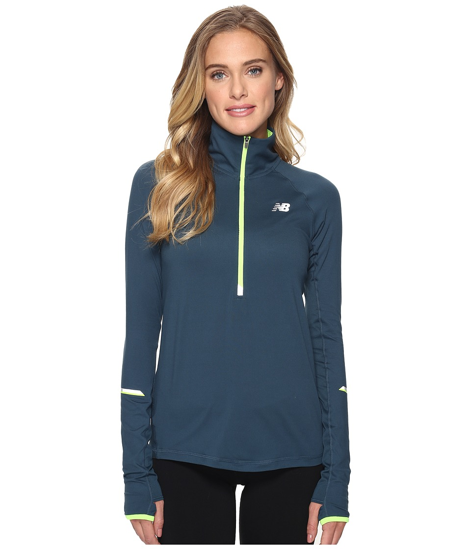 New Balance Impact 1/2 Zip (Tornado) Women