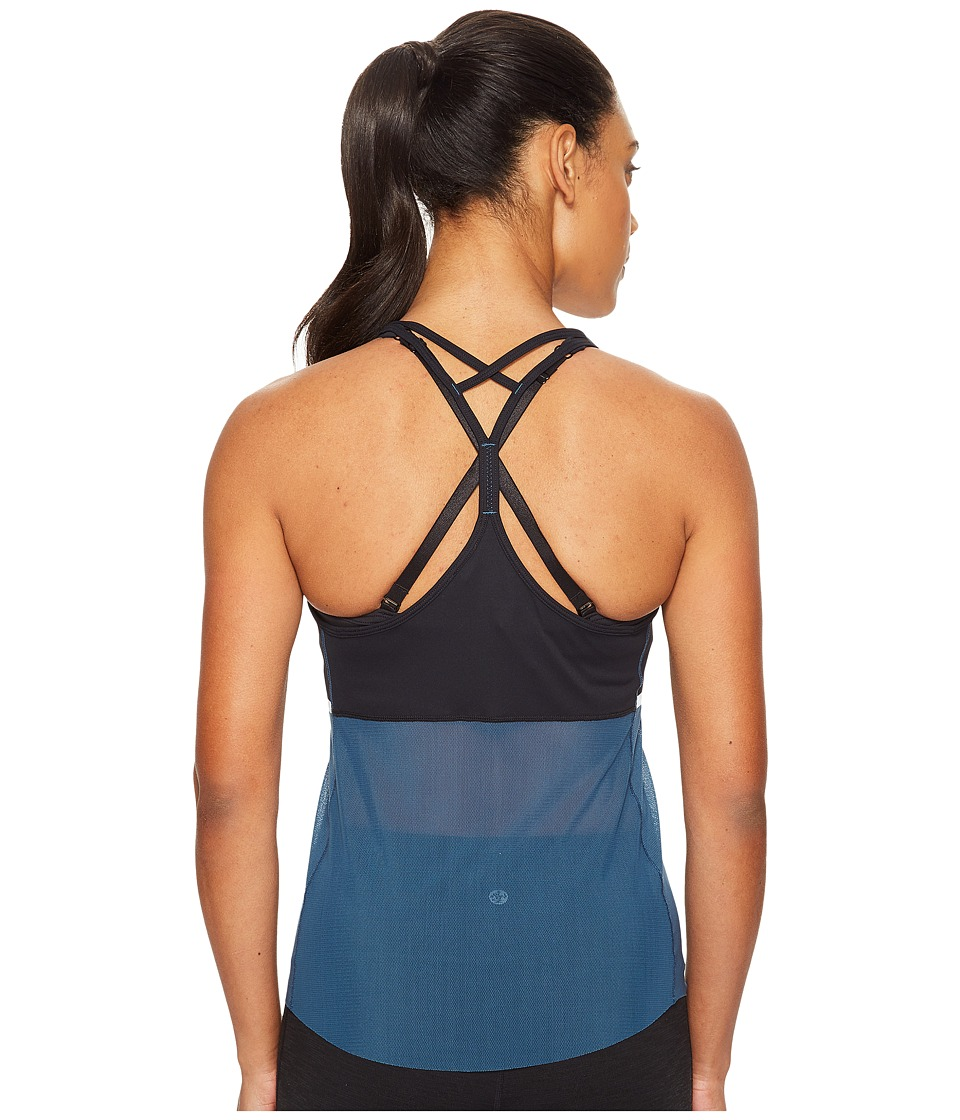 New Balance - Ice Hybrid Tank Top (Black) Women's Sleeveless